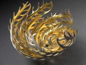 Gilded Coral Nest