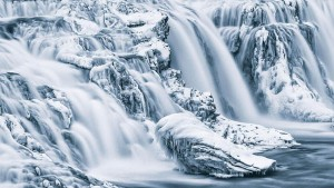 Frozen Beaty III - Waterfall Gullfoss, southern Iceland