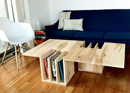Bookshelf Coffee Table New Ideas And Innovations